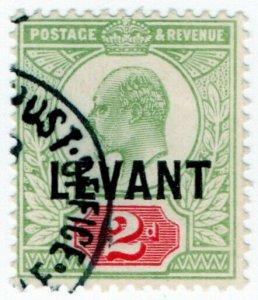 (I.B) Lebanon Postal : British Levant 2d (SG L4)