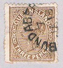 Queensland 93 Used Queen Victoria 1890 (BP51717)