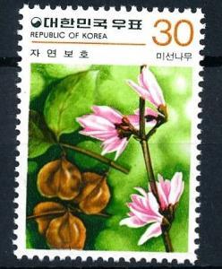 [62015] Korea 1980 Flora Flowers Blumen Fleur  From Set MNH