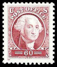 PCBstamps   US #3140a 60c George Washington, (Pacific 98), sgl., MNH, (6)