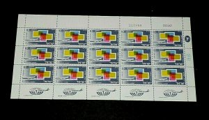 1968, ISRAEL #C39,  AIRMAIL, IMPORT ISSUE, 0.30, SHEET/ 15 , MNH, NICE! LQQK!