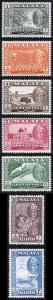 Kelantan SG96/102 1961 Set to 20c M/Mint