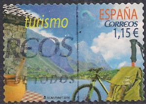 Spain 2016 1.15E used stamp ( F1208 )