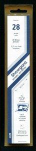 Showgard BLACK Strip Mounts Size 28 = 28.5 mm Fresh New Stock Unopened