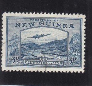 New Guinea: Sc C50, Used (36220)