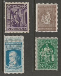 Europe mostly mint Cinderella stamp- Free Shipping- great prices 4-23b-6