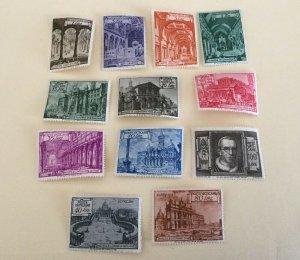 Vatican City Sc# 122-131, E11-E12 MH (Mint Hinged) Complete Set of 12