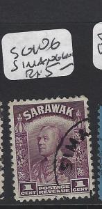 SARAWAK   (PP2008B)  1C  SG 106 SIMANGGANG CANCEL  VFU