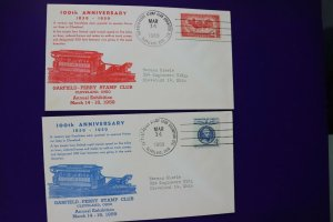 GPSC Garfield Perry stamp club Cleveland OH 1959 Horse Car Lines Philatelic Expo