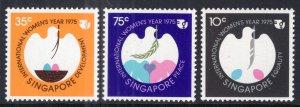 Singapore 240-242 Women's Year MNH VF