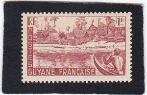 French Guiana,  #  196   MNH