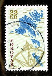 FAROE ISLANDS 378  USED  SCV  $5.75   BIN $2.00