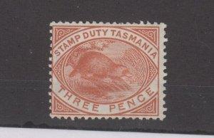 Tasmania QV 1880 3d Platypus SGF27 MH JK2353