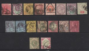 Great Britain a small used lot QV & Edwards