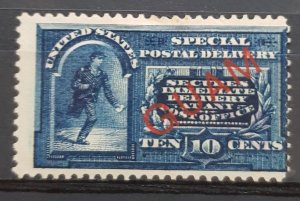 United States Guam 1899 #E1 Special Delivery MH