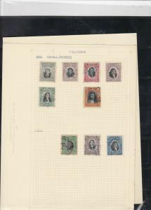ecuador stamps page ref 16999