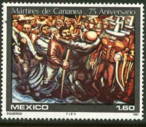 MEXICO 1238, 75th Anniversary of Labor Strike at Cananea. MINT, NH. VF.