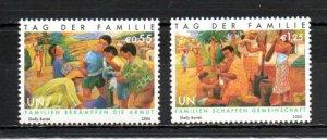 United Nations - Vienna  380-381 MNH
