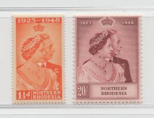 Northern Rhodesia - 1948 - SG 48-49 - MNH