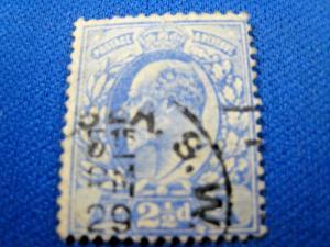 GREAT BRITAIN  -  SCOTT #131   Used                 (alb10)