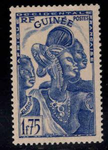 FRENCH GUINEA Scott 153  MH* stamp