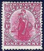 HERRICKSTAMP NEW ZEALAND Sc.# 131 1908 High Quality VF NH