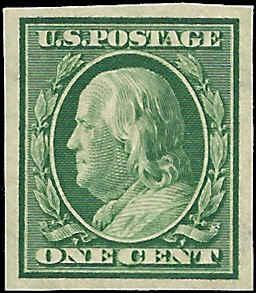 343 Mint,OG,LH... SCV $4.50