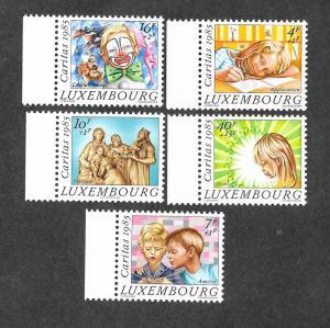 Luxembourg MNH B352-6 Christmas 1985