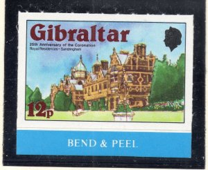 Gibraltar 1978 QEII Early Issue Fine Mint Unmounted 12p. NW-99277