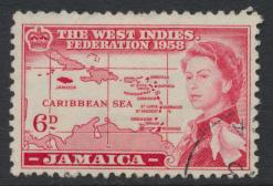 Jamaica SG 177  Used   SC# 177   Caribbean Federation  see details