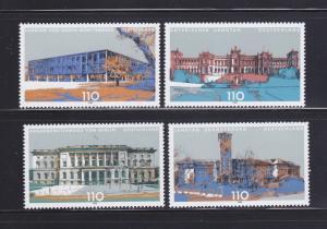 Germany 1994-1997 Set MNH Buildings (C)