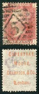 Spec PP23 Penny Plate 146 (JI) Copestake Moore Crampton Underprinted