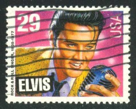 US #2721 Elvis, used (0.25)