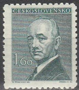 Czechoslovakia #319   F-VF Unused  (S4251)