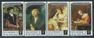 Cook Islands - 1990 - Paintings - 4 Stamp Set, Scott #1034-7 3L-019