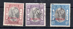 India Jaipur State 1931 King Service to 1A WS9973