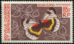 New Caledonia SC# C53 Butterfly 85ƒ MNH