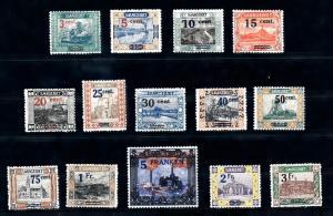 [70118] Germany SAAR Saargebiet 1921 Landscapes OVP Signed MNH Original gum!