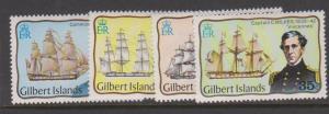 Gilbert Islands Sc#296-299 MH