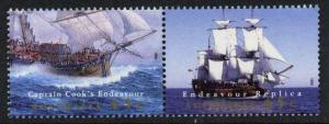 Australia 1423 MNH Captain Cook, Endeavour, Sailing Ship