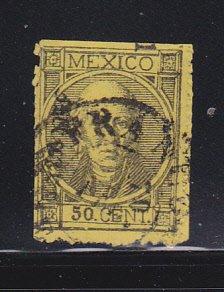 Mexico 69 Signed U Manuel Hidalgo, Mexican Leader