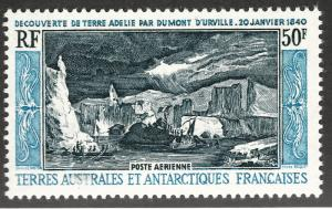 FSAT Beautiful Antarctic SC C7 VF MNH Cat $125..Limited and Popular!