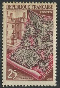 France - Scott 711 - General Issue -1939 - MH - Single 25fr Stamp