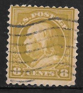 USA 508: 8c Franklin, used, F