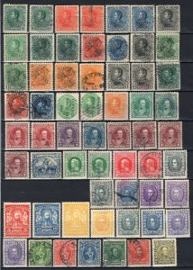 Venezuela Early to 1925 Collection of 184 Stamps + 1 Cover Mint-Used With Better