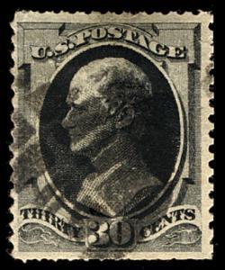 US #190 SCV $90.00 VF nice cancel, super fresh stamp, nice large margins, SCV...