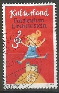 LIECHTENSTEIN, 2006, used 85rp, Woman holding G clef. Scott 1348