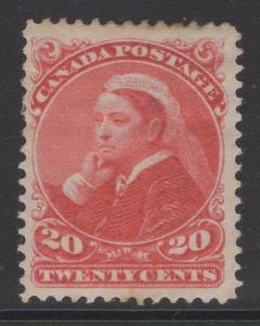 CANADA SG115 1893 20c VERMILION MTD MINT