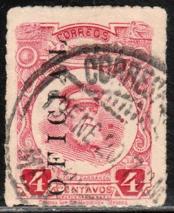 MEXICO O127, ISSUE OF 1919. Used. VF.  (888)