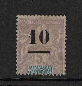 Madagascar SC# 49 Mint Hinged / Multi Hinge Rem / Most Original Gum - S3482